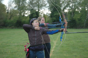 Trying Archery