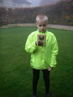 Matthew's Cross Country Award