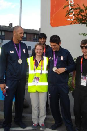 London 2012 volunteering