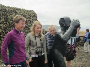 Liz, Sarah, Matthew and friend - Lanzarote