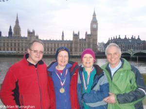 Devizes to Westminster medals