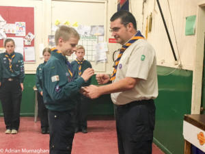 Matthew Chief Scout's Gold Award
