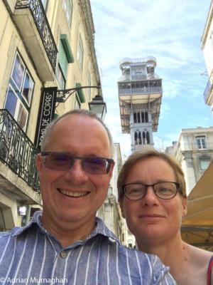 Adrian & Liz, Lisbon