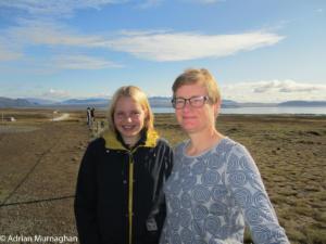 Liz and Sarah